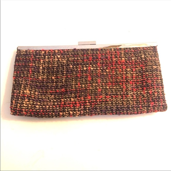 Steve Madden Handbags - Steve Madden Tweed Clutch